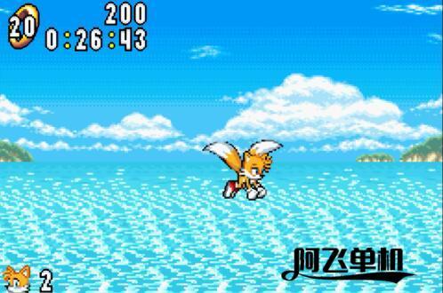 GBA2合1《索尼克弹珠台+索尼克战斗(日版)》带中文模拟器