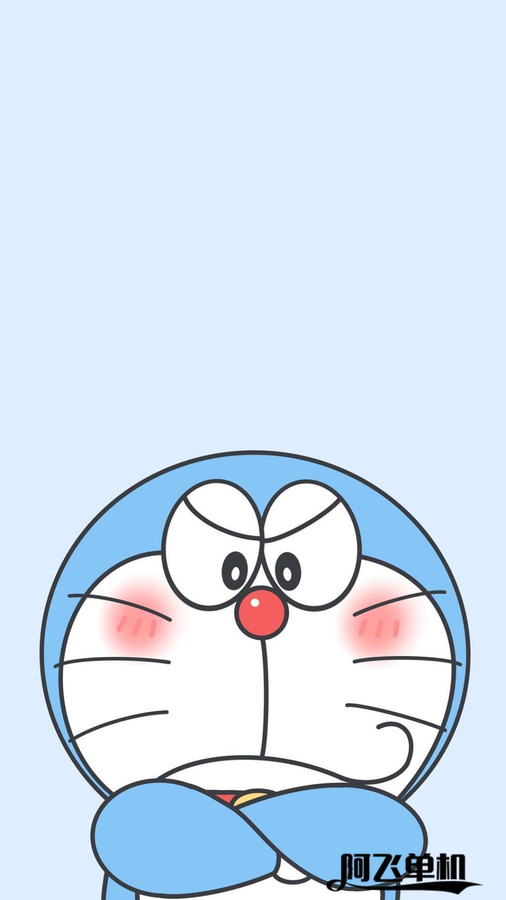 哆啦A梦可爱搞怪高清手机壁纸