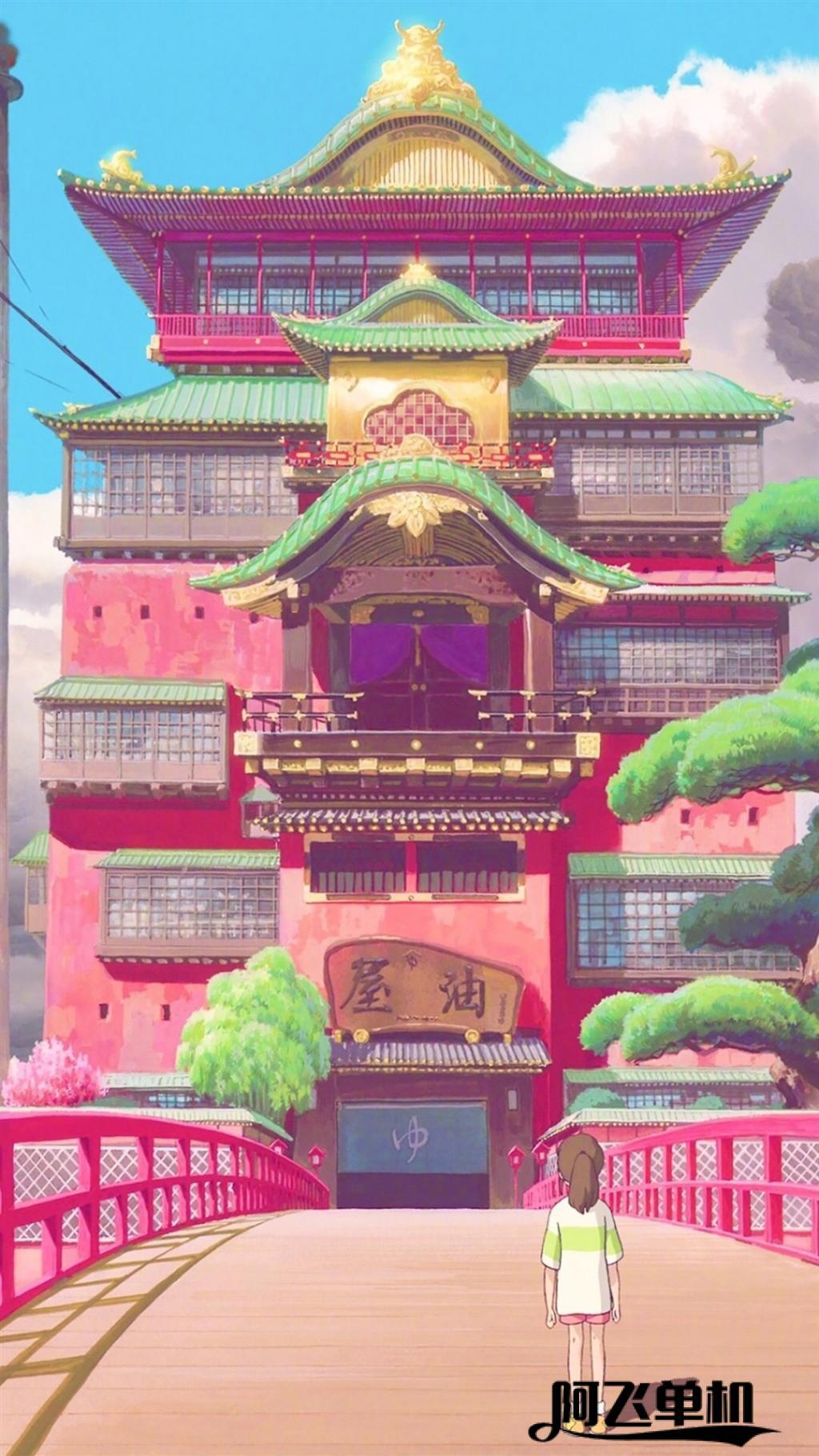 宫崎骏唯美场景高清手机壁纸