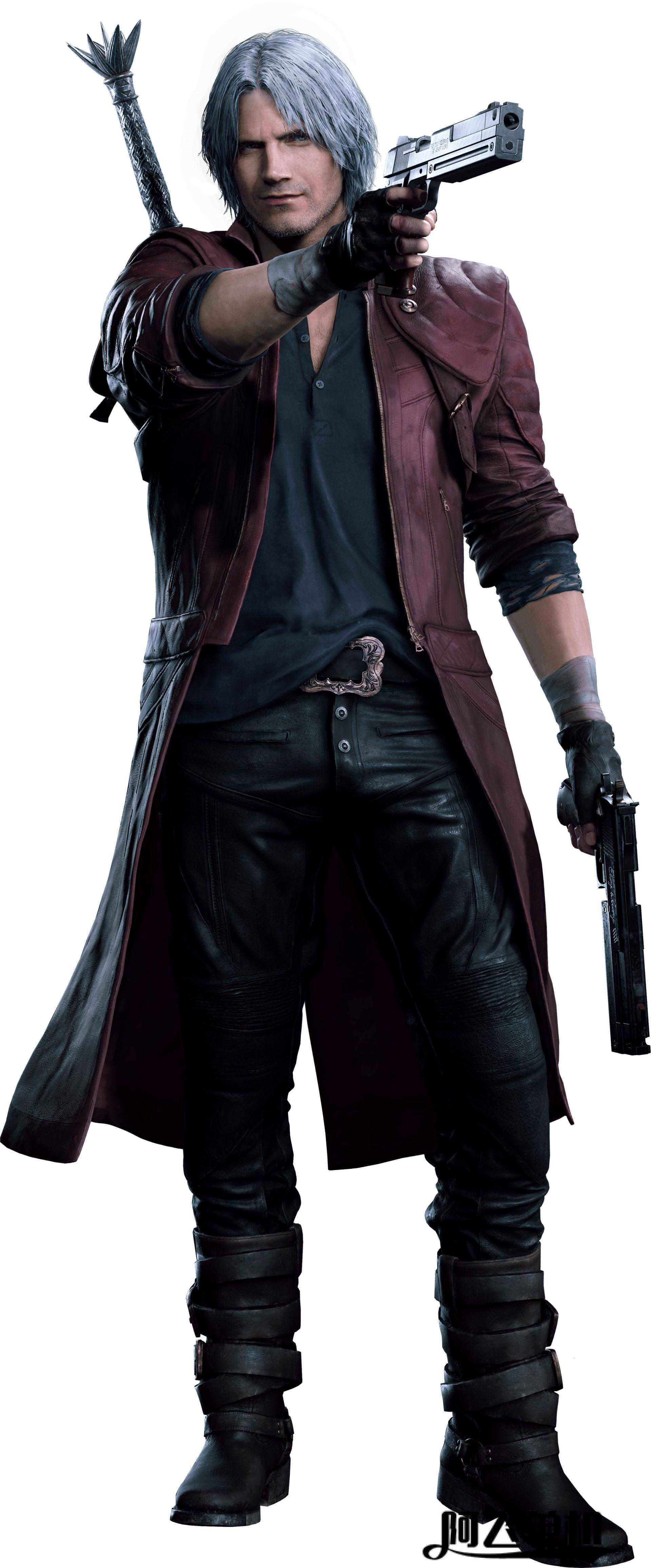 《鬼泣5》登场人物图鉴,但丁(Dante)