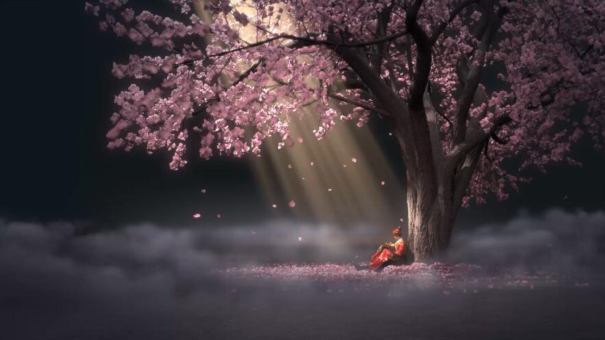 """少年锦衣卫视频壁纸""""海棠树下"""""""