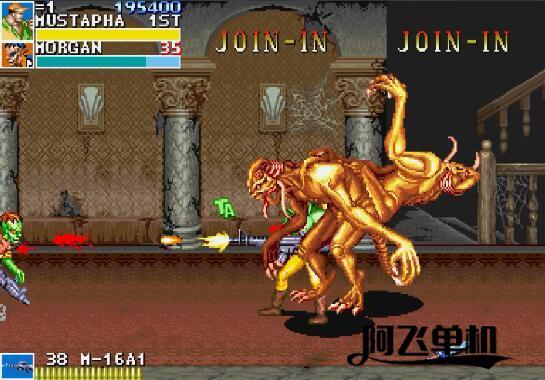 街机HACK《恐龙快打斗神版》带中文模拟器