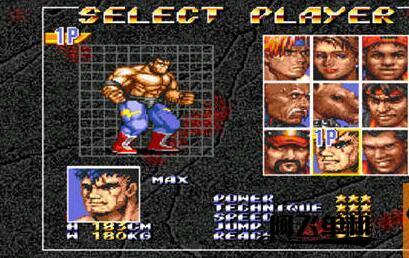 MD《怒之铁拳3全人物版》带中文模拟器