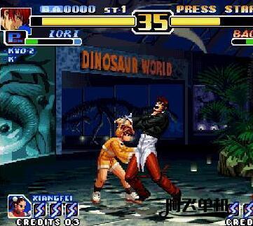 街机《拳皇99》带中文模拟器