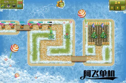塔防游戏《花园守卫者圣诞版》中文版