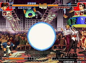 街机HACK《拳皇97屠蛇加强版》带中文模拟器