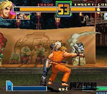 街机《拳皇2001》带中文模拟器