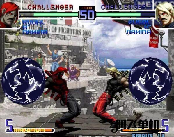 街机《拳皇2002》带中文模拟器