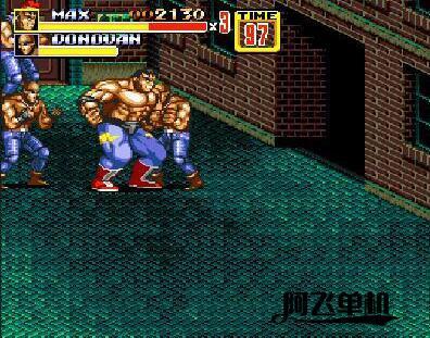MD《怒之铁拳2:死斗安魂曲汉化版》带中文模拟器