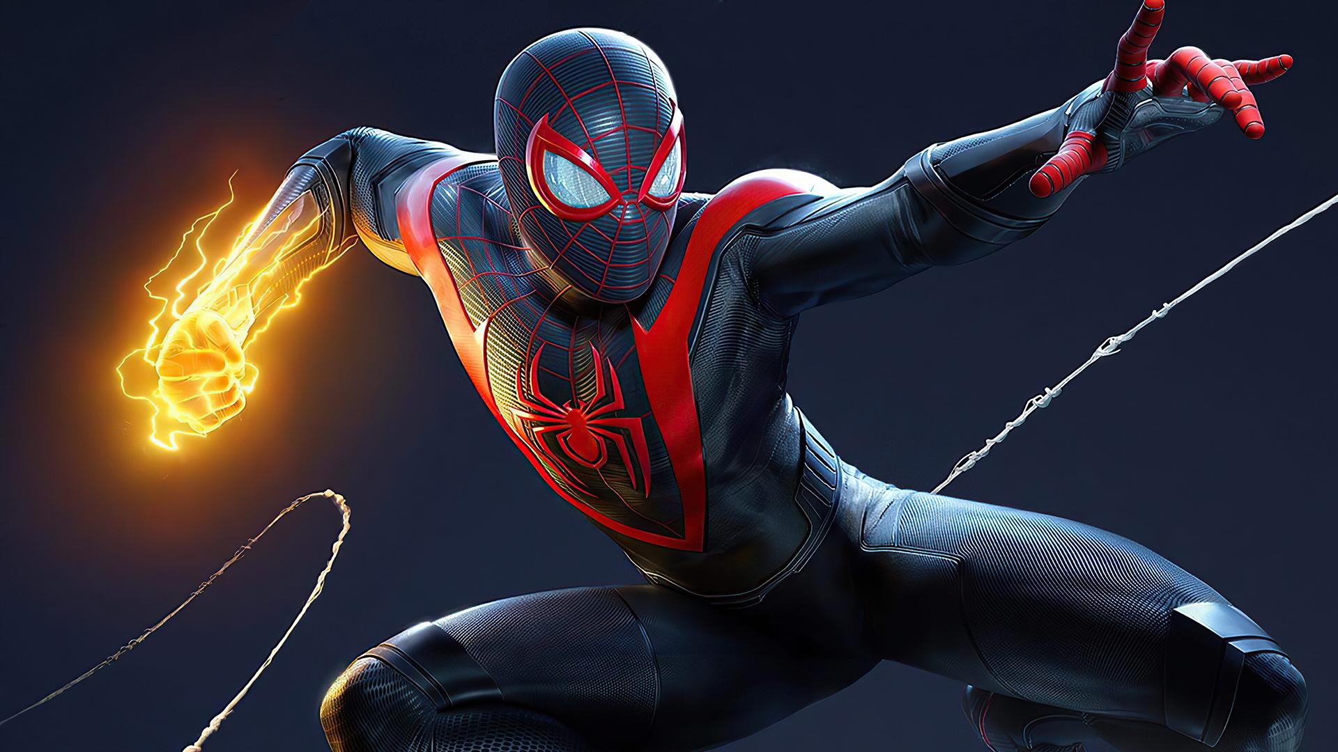 《蜘蛛侠:迈尔斯·莫拉莱斯》游戏高清电脑桌面壁纸