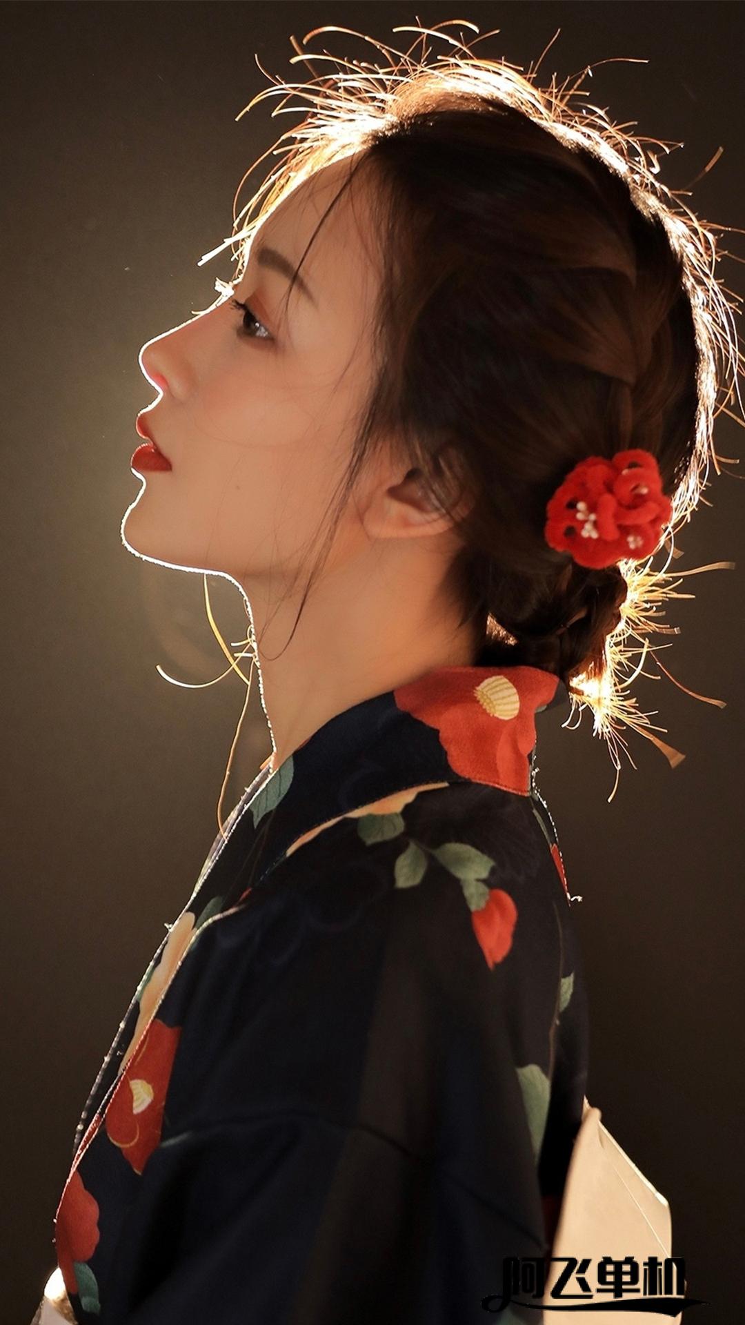 日系和服高清美女手机壁纸